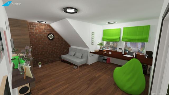 Arbeitszimmer gestalten  Kostenloser Raumplaner - Planoplan, der ultamative 3D Planer
