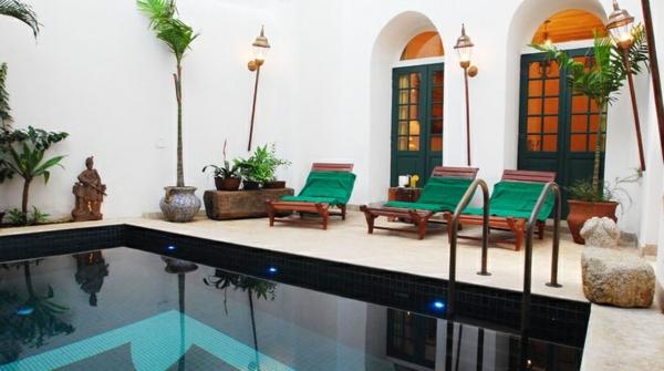 ausgefallene hotels mit schwimmbad