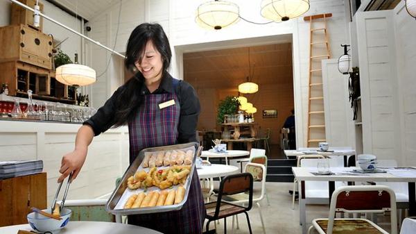 ausgefallene restaurants Davids restaurant Melbourne chinesisches restaurants