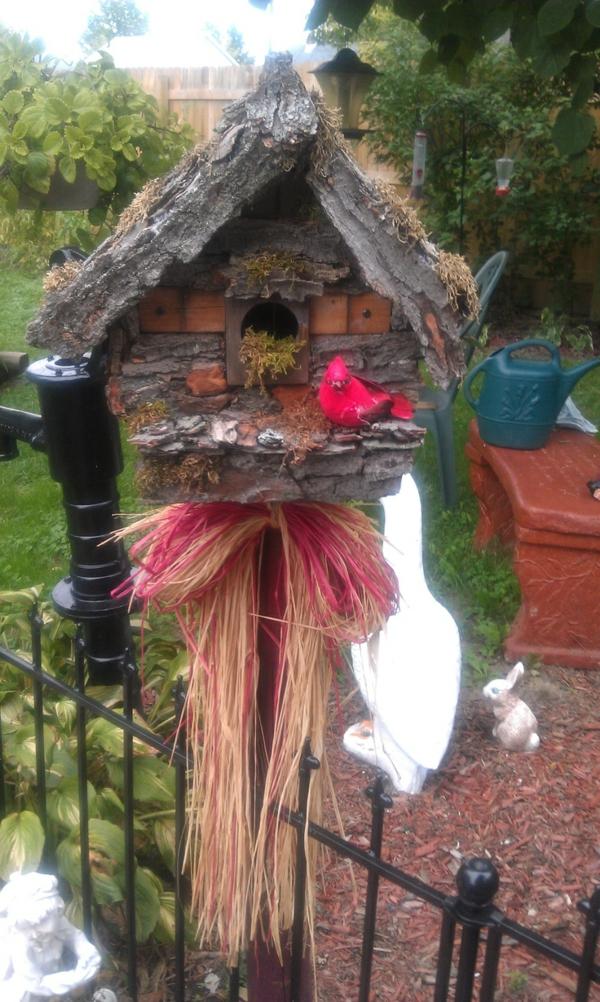 ausgefallenes vogelhaus bauen