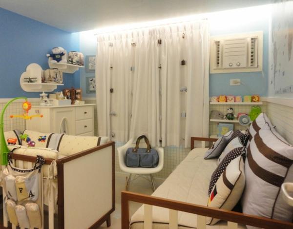 babyzimmer einrichten möbel babymöbel farbe grün