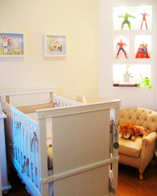 babyzimmer einrichten möbel babymöbel gemälde