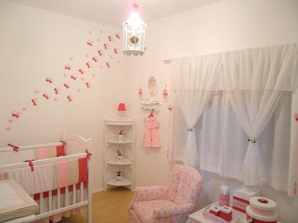 babyzimmer einrichten möbel babymöbel set wanddeko