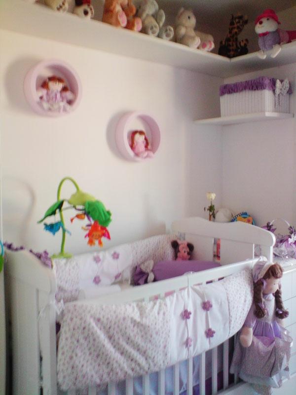 babyzimmer komplett gestalten - Kinderzimmer Grun Lila