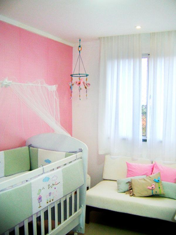 Babyzimmer gestalten wände rosa  Babyzimmer komplett gestalten