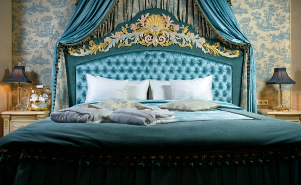 barock schlafzimmer einrichtung - wie die adligen schlafen, Wohnzimmer design