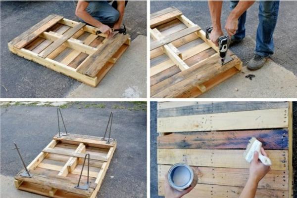 bauen mit paletten werkzeuge diy couchtisch selber bauen