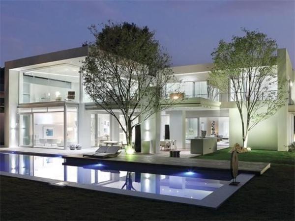 bessere architektur mit glas fassade
