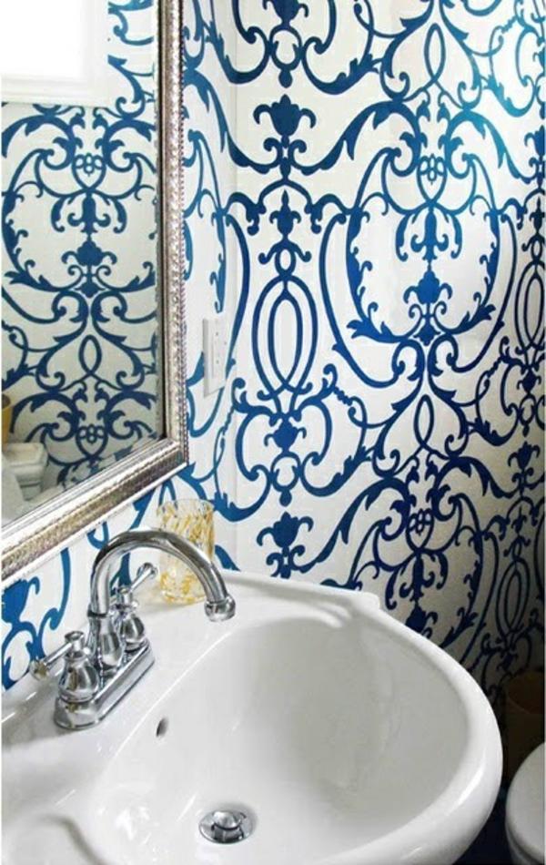Badezimmer Tapete T?rkis : Badezimmer Blau T?rkis: Bad trend farbe im badezimmer hansgrohe de