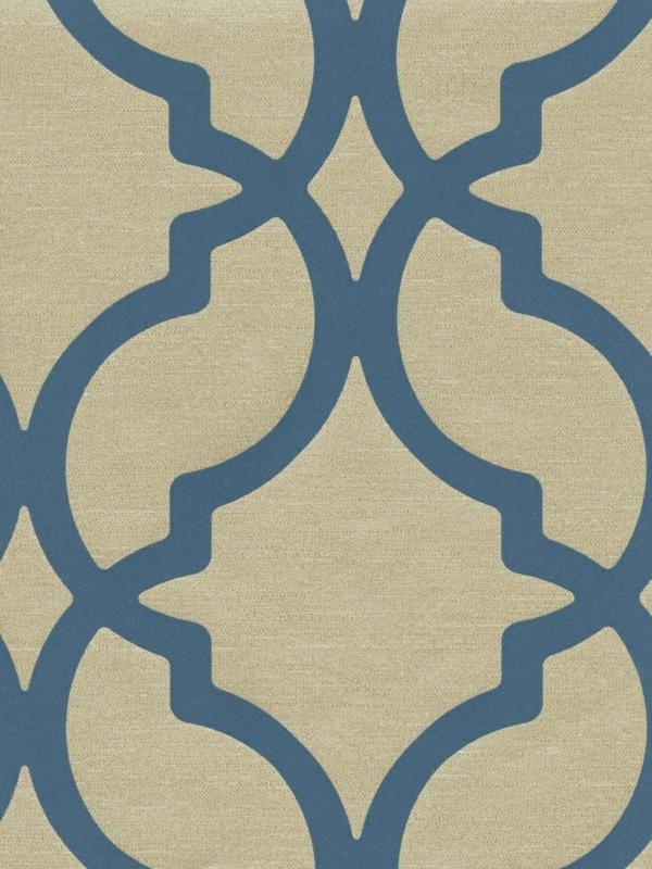 blaue tapete der perfekte hintegrund in jedem raum. Black Bedroom Furniture Sets. Home Design Ideas