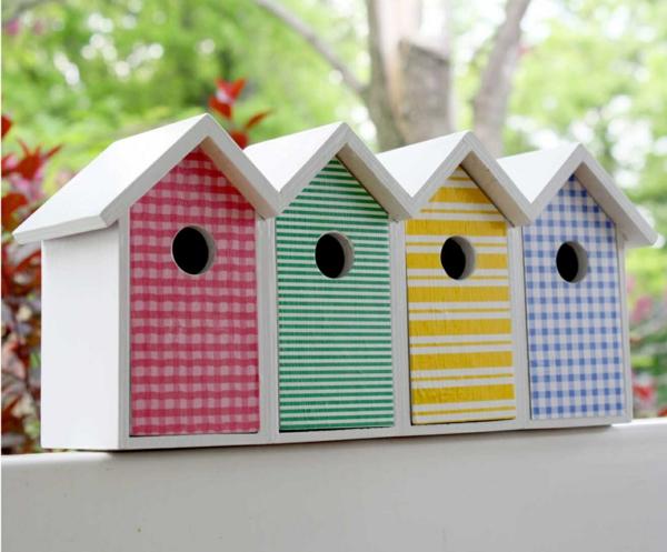 buntes vogelhaus selber bauen