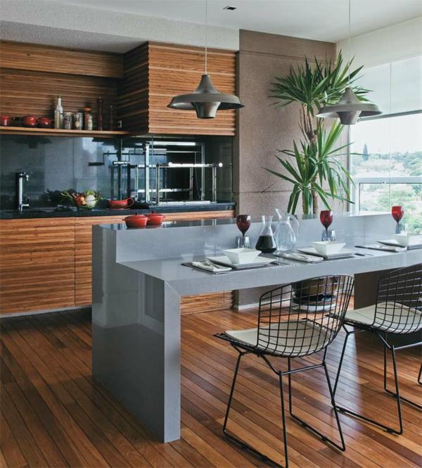 coole einrichtungsideen veranda küche