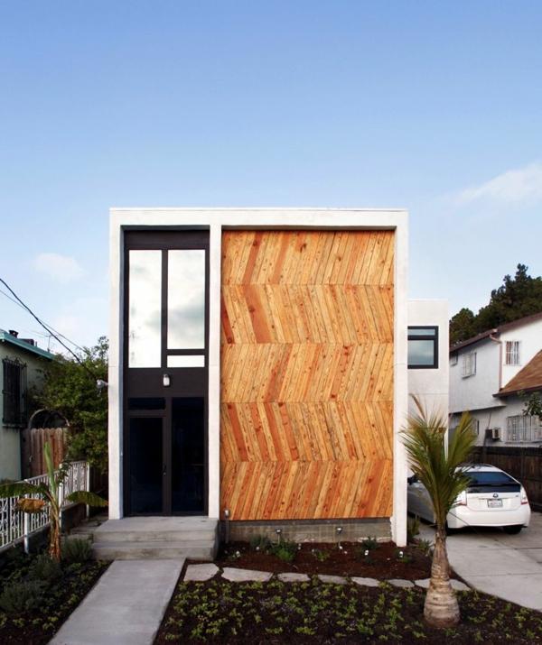 Fassadengestaltung modern stein  Moderne Fassadenverkleidung für einen eindrucksvollen Hauscharakter