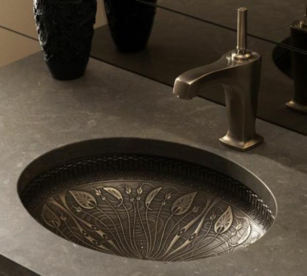 innendesign ideen der einsatz von bronze im interieur. Black Bedroom Furniture Sets. Home Design Ideas