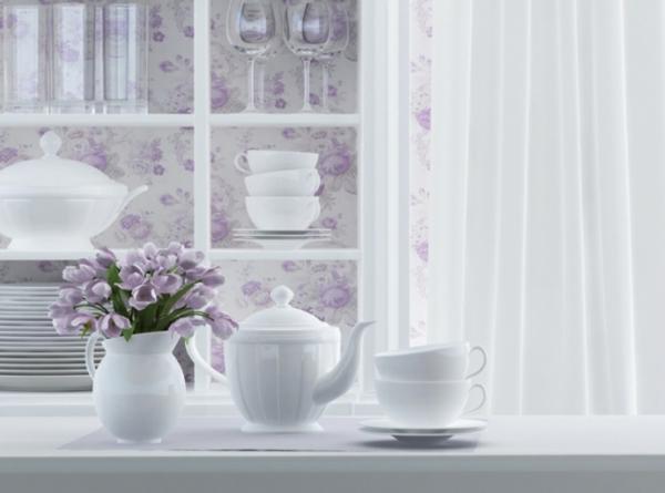 k chengestaltung im landhausstil. Black Bedroom Furniture Sets. Home Design Ideas