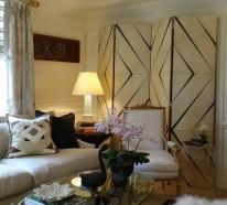 Schöne Wohnideen -Metallic Decken für Ihr Zuhause