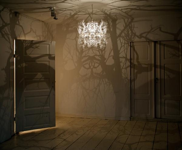 designer leuchten lampen Hilden&Diaz schattenspiel effekt kronleuchter