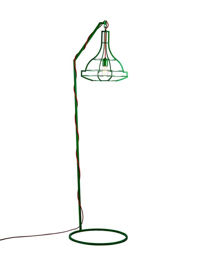 designerlampen standleuchten Ellie Mae the slims kollektion studio Beam grün