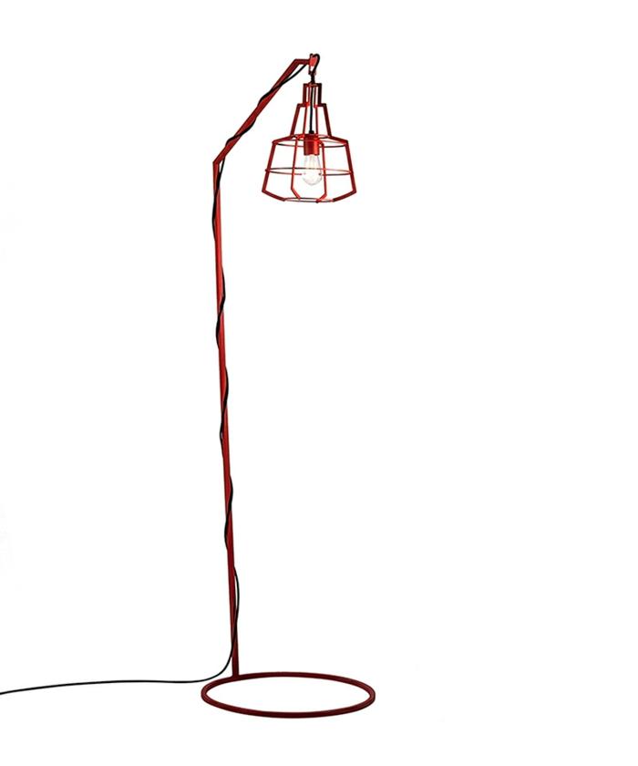 designerlampen standleuchten rufus rot the slims kollektion studio Beam
