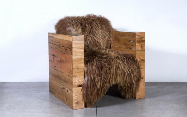 designermöbel sessel wolle isländisch