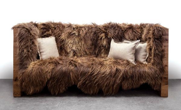 designermöbel sofa wolle eiche