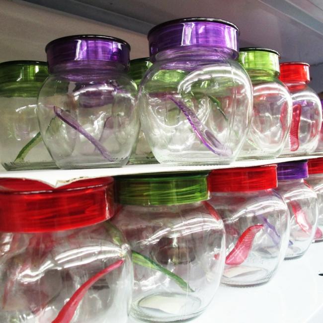 geschirr set günstig kaufen küchenutensilien glasboxen plastiklöffel