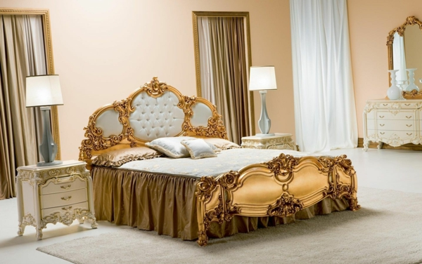 Barock Schlafzimmer Einrichtung - Wie Die Adligen Schlafen Schlafzimmer Barock Modern
