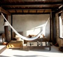 Hängematte aufhängen – das Innendesign aufpeppen