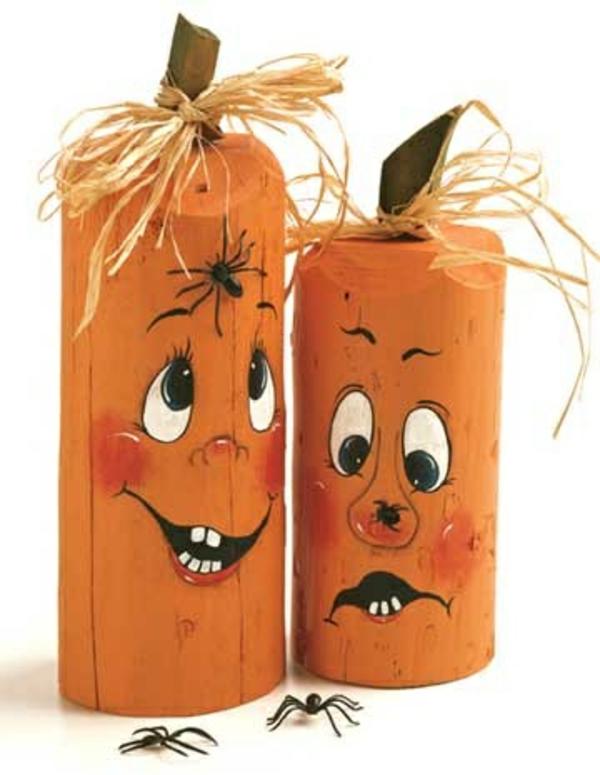 Halloween deko selber machen 33 originelle bastelideen - Halloween deko basteln mit kindern ...