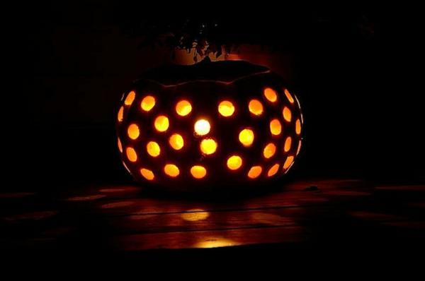 halloween deko selber machen festliche bastelideen. Black Bedroom Furniture Sets. Home Design Ideas