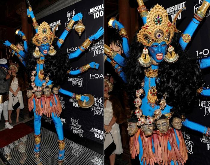 halloween kostüme ideen heidi klum 2008