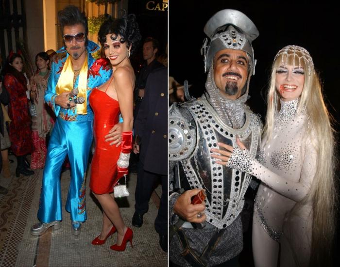 halloween kostüme ideen heidi klum ric pipino 2002 2001