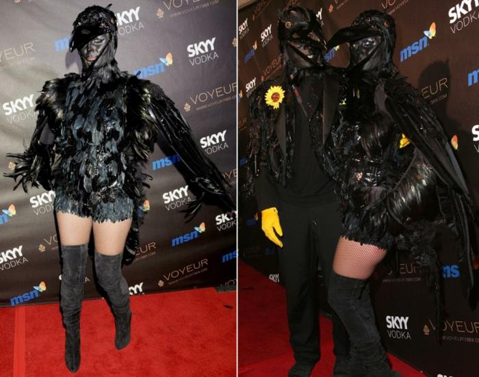 halloween kostüme ideen heidi klum und seal halloween party 2009