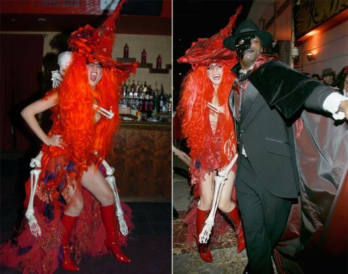 halloween kostüme ideen heidi klum und seal halloweenparty 2004