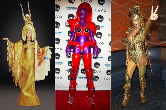 halloween kostüme ideen heidi klums halloween party