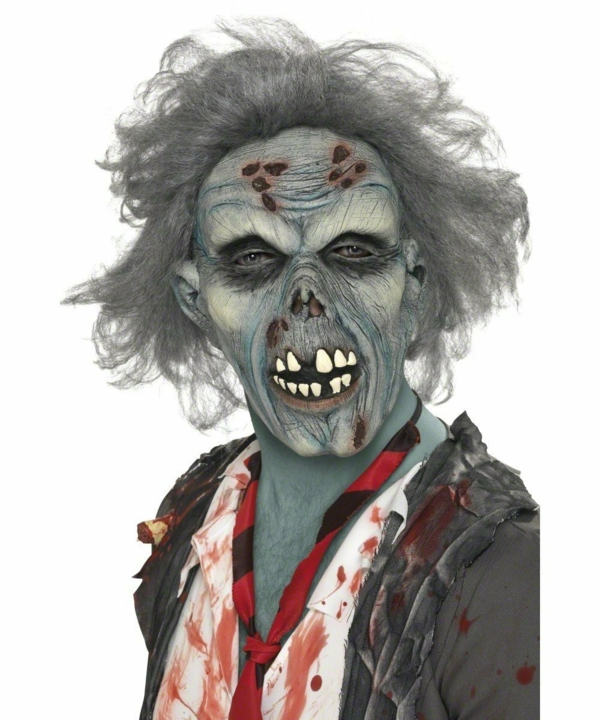 halloween party verkleidungen halloween maske zombie