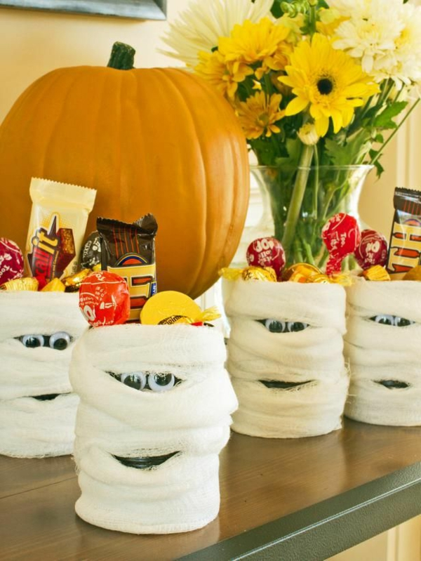 halloween süßes oder saures deko ideen kreative bastelideen