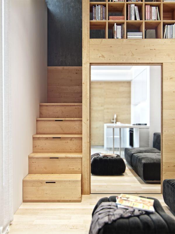 treppen im trend durch treppenschubladen viel stauraum erschaffen. Black Bedroom Furniture Sets. Home Design Ideas