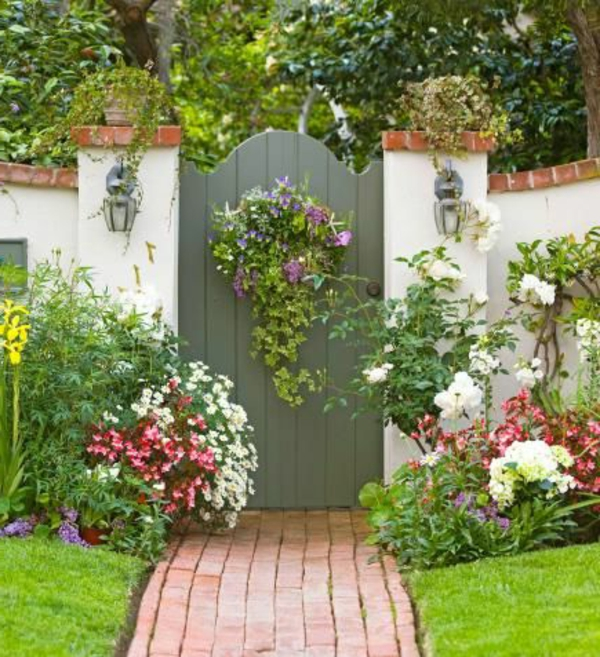 Garten Betonmauer war genial ideen für ihr haus ideen