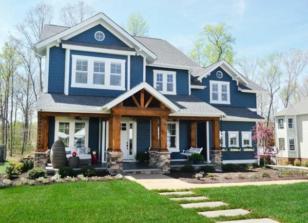 Hausfassaden Farben Welche Farbe Wird Ihrem Haus Glanz