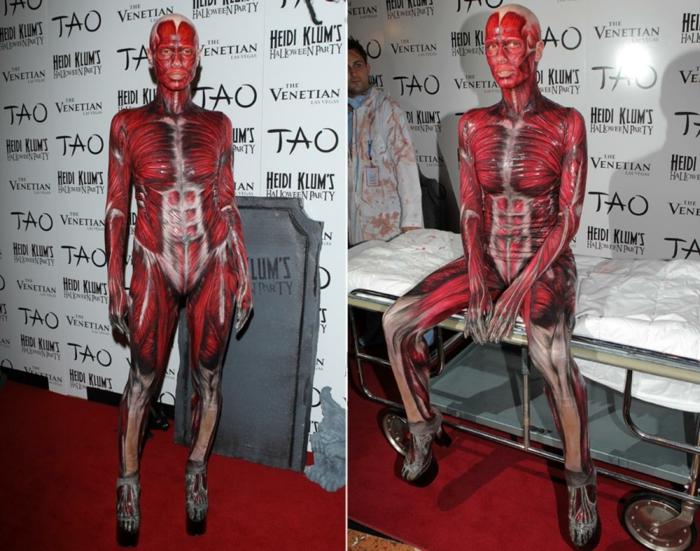 heidi klum 2011 horror halloween kostüme