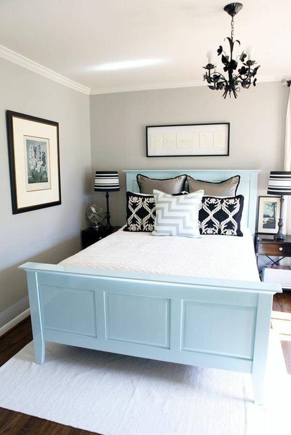 helle wandfarben – wie sie sie effektiv anwenden können, Schlafzimmer ideen