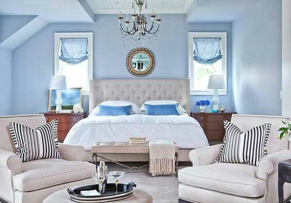 light blue and white bedroom ideas helle wandfarben wie sie sie effektiv anwenden k 246 nnen 20657