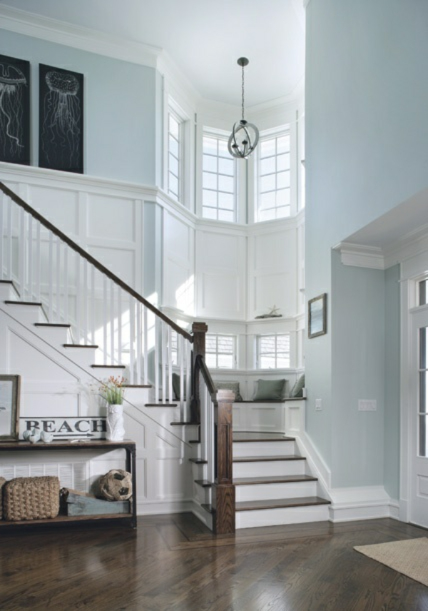 Gloss Paint Staircase Sodablast