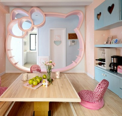 Innendesign ideen f r die hello kitty fans for Beruf innendesigner