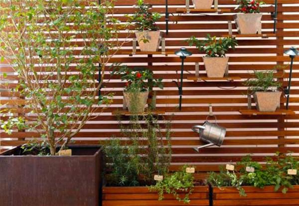 holzpalette für pflanzen