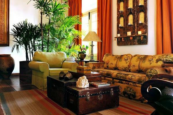 hotelzimmer in safari stil