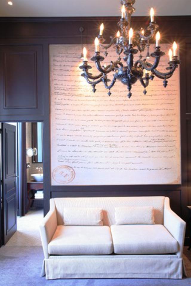 hotelzimmer de la Reine Pavillon de la Reine Paris romantisches hotel