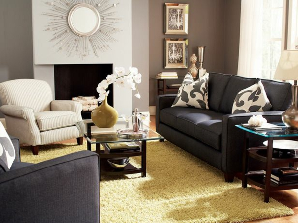 Wohnzimmer dekorationen f r eine gem tliche atmosph re Dekorationsideen wohnzimmer