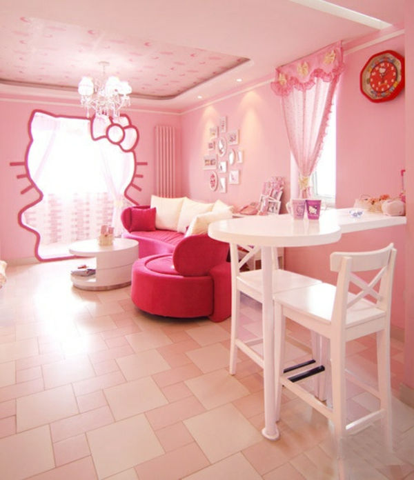 Innendesign ideen f r die hello kitty fans for Innendesign ideen